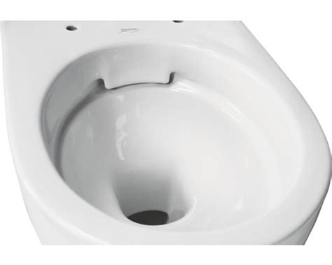 keramag spuelrandloses tiefspuel wc renova nr  rimfree
