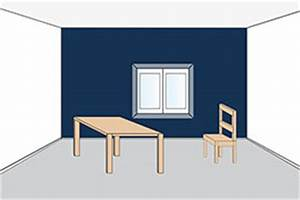 Zimmer Streichen Lassen : wandfarben und ihre raumwirkung an w nden und decken ~ Bigdaddyawards.com Haus und Dekorationen