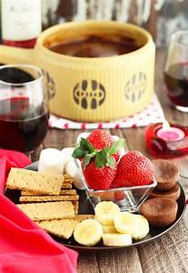 Dips Zum Fondue : red wine dark chocolate fondue dip 3 yummy tummies ~ Lizthompson.info Haus und Dekorationen