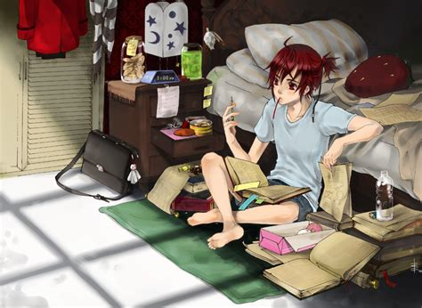Anime Studying Wallpaper - anime studying wallpaper search anime studying