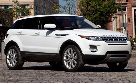 2018 Range Rover Evoque Us Pricing And Mpg Ratings