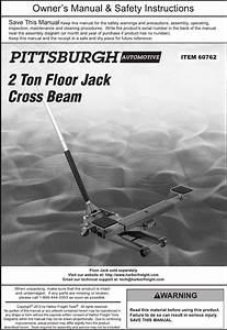 Pittsburgh Automotive Jack Replacement Parts