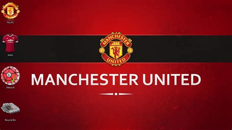 Manchester United Theme for Windows 10 | 8 | 7