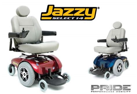 Jazzy Select Power Chair by Pride Jazzy Select 14 Power Wheelchair Blend And