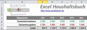 Erstausstattung Haushalt Liste : excel haushaltsbuch kostenloser download excel lernen ~ Markanthonyermac.com Haus und Dekorationen