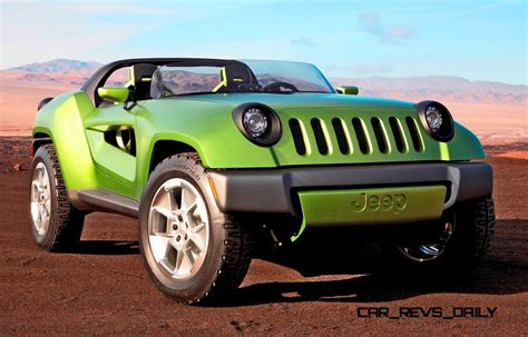 Jeep Car : 2008 Jeep Renegade Concept