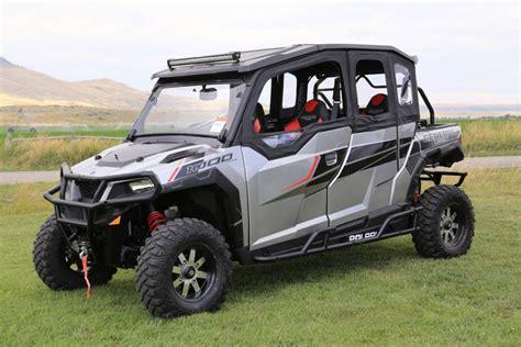 Four Seater by Utv Test Polaris General 4 Dirt Wheels Magazine