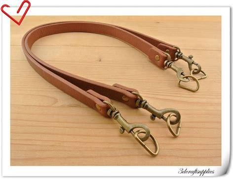 cm brun pour sac  main anses de sacs poignee en cuir une paire avec des crochets zb