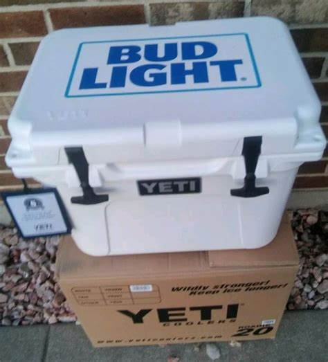 bud light yeti cooler bud light ice chest shop collectibles online daily