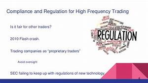 High frequency trading - Finance 319-2