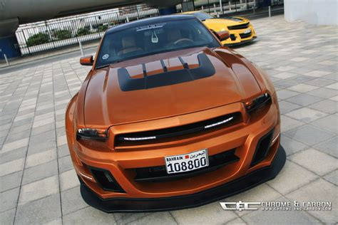 Ford Mustang GT with Tornado-bodykit is suitable for the ...