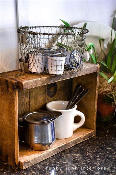 diy wooden pallet coffee pod pallets designs