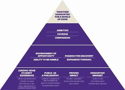 Brand Pyramid Pillars Level Passion Ambition Uw