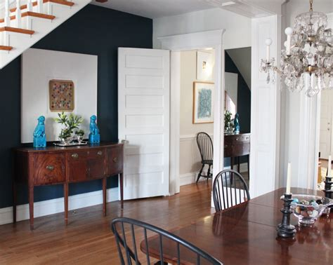 navy blue accent wall hanover avenue