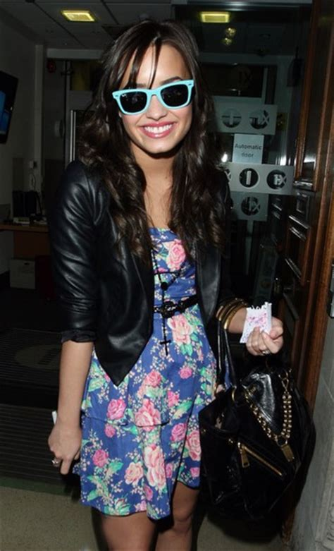 demi lovato is grunge chic in plaid rocker t shirt at my jacket demi lovato leather jacket black leather jacket