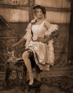 Old West Saloon Girls