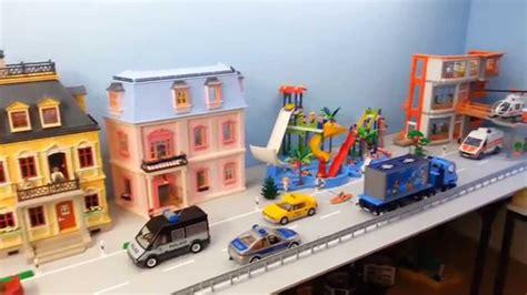 Aufbau Und Gestaltung Unserer Riesigen Playmobil Stadt