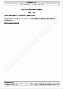 Bmw 325i 2001 Wiring Diagrams Sch Service Manual Download