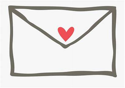 Envelope Clipart Heart Clip Transparent Cartoon Pinclipart