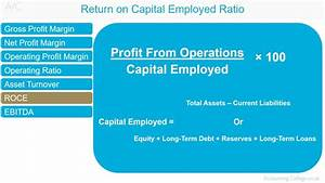 Capital Employed Berechnen : return on capital employed ratio a z of business ~ Themetempest.com Abrechnung