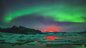 Watch a massive solar storm charge up the aurora borealis ...