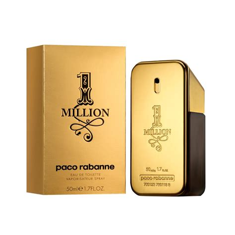putignano one million by paco rabanne eau de toilette da 50 ml for profumo da uomo nuovo