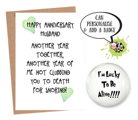 Dec 04, 2020 · these free, printable anniversary cards are perfect to send to a couple in your life celebrating a wedding anniversary, without breaking the bank.there are even some printable anniversary cards here that would be perfect to send to your honey on your anniversary. Funny anniversary card for husband | personalised anniversary card | Fast Shipping