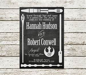 printable wedding invitation star wars lord of the rings With harry potter wedding invitations diy