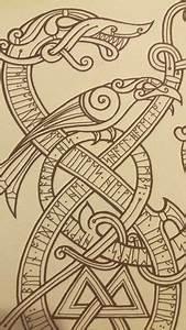 Dessin Symbole Viking : symbole mythologie nordique et slave pinterest tattoos viking tattoos et norse tattoo ~ Nature-et-papiers.com Idées de Décoration