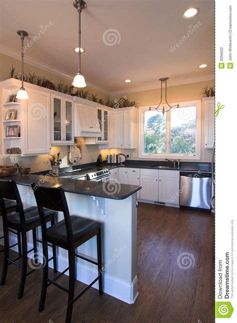 cuisine avec le bar photo stock image du po 234 le