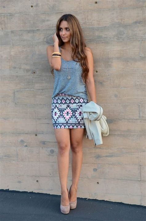 Crazy Mini Skirt Outfit Trend for Girls u2013 Designers Outfits Collection