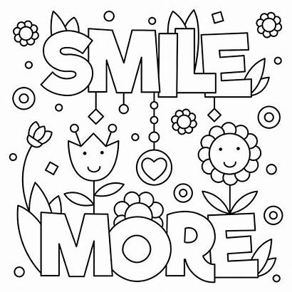 Coloring October Smile Pages Printable