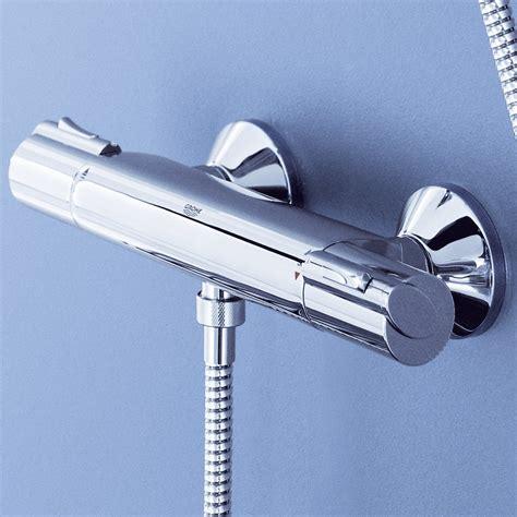 Robinet Thermostatique Bain Grohe mitigeur thermostatique 1000 grohe avec bras et douchette
