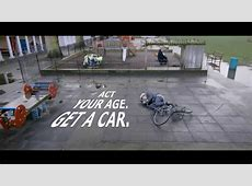 Act Your Age Get A Car Top Gear funny commercial YouTube
