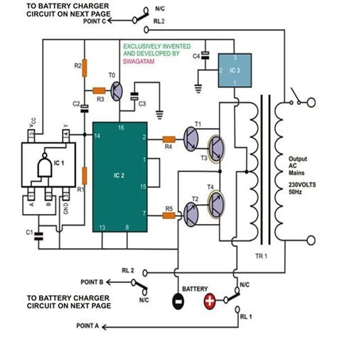 simple uninterruptible power supply ups circuits
