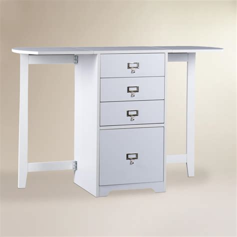 world market white desk white folding craft desk world market