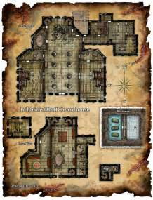 Dungeons and Dragons Map Church