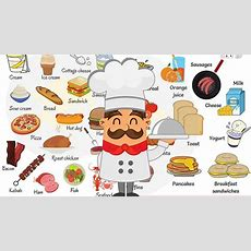 Food Vocabulary  Food Names  Types Of Food In English With Pictures Youtube