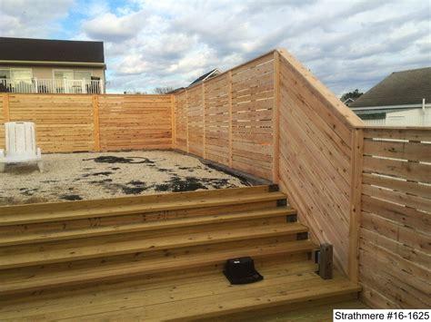 modern wood fence photo gallery dennisville fence