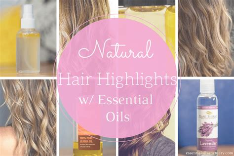 natural hair highlights  essential oils hydrosols
