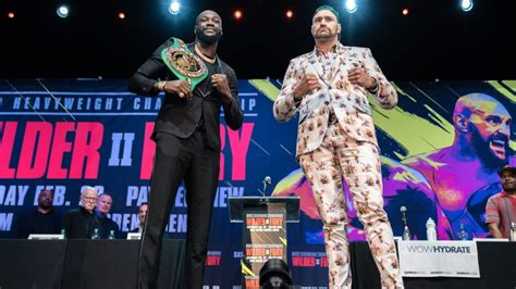 Great Eight: Deontay Wilder, Tyson Fury to decide who's No. 1