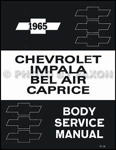 1965 Chevrolet Assembly Manual