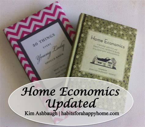 Home Economics, Updated - Hodgepodge