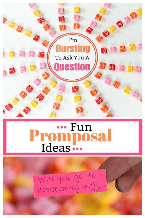 cute prom proposals  starbursts fun squared