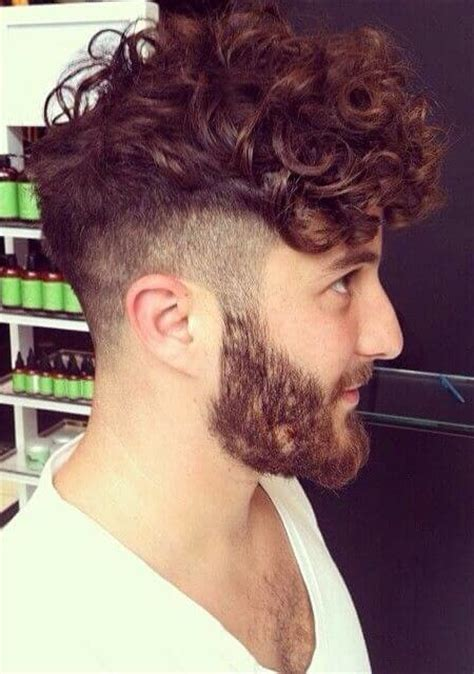 cool curly hairstyles  men feed inspiration