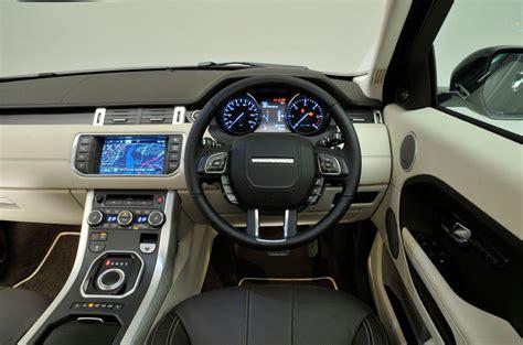 evoque land rover interior land rover range rover evoque interior autocar