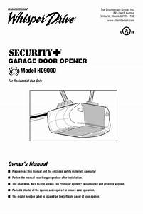 Liftmaster Garage Door Keypad Owners Manual