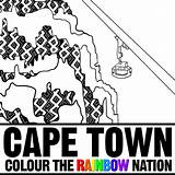 Cable Cape Town Pages Colouring Coloring Rides Colour Nation Rainbow sketch template