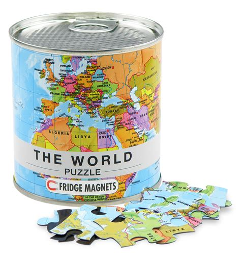 the world puzzle fridge magnets 4260153728534 the chart map shop