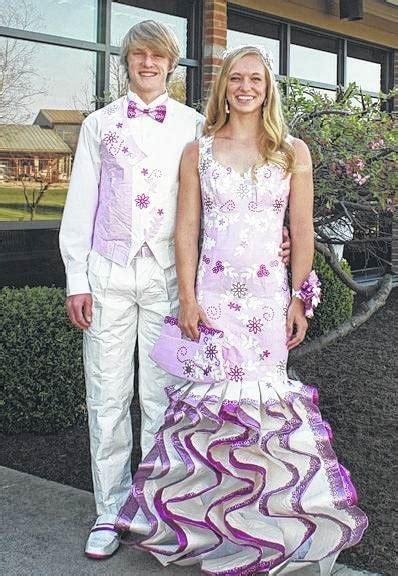 duct tape promwear  win prize sidney daily news
